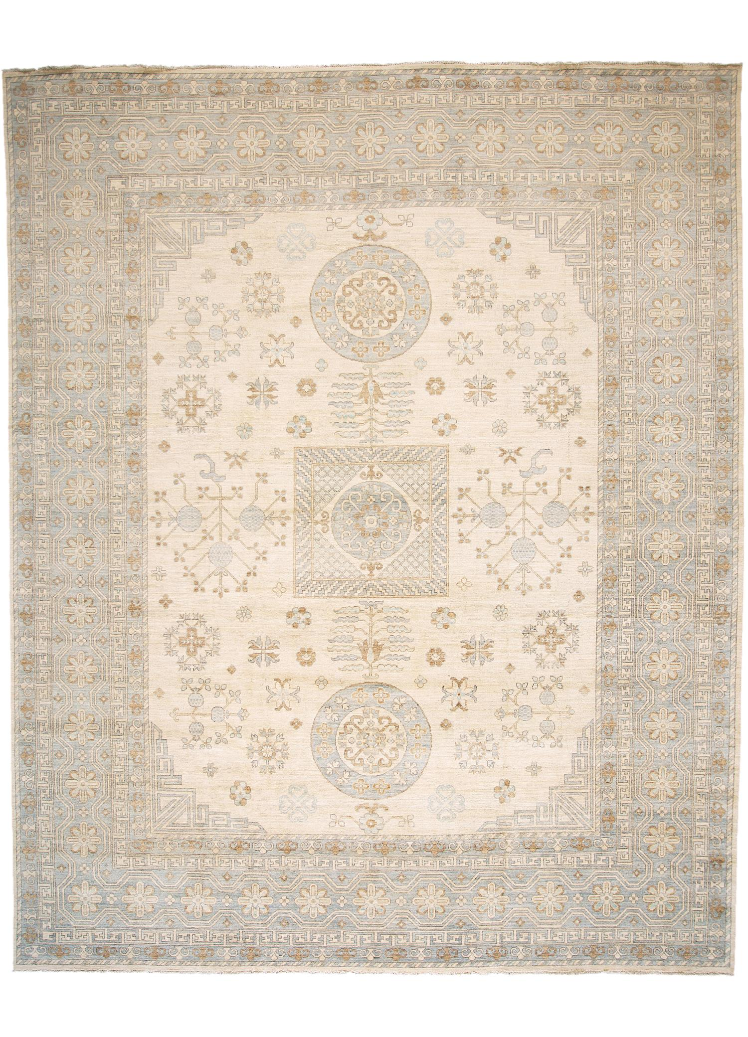 Contemporary Khotan Rug, 12X15