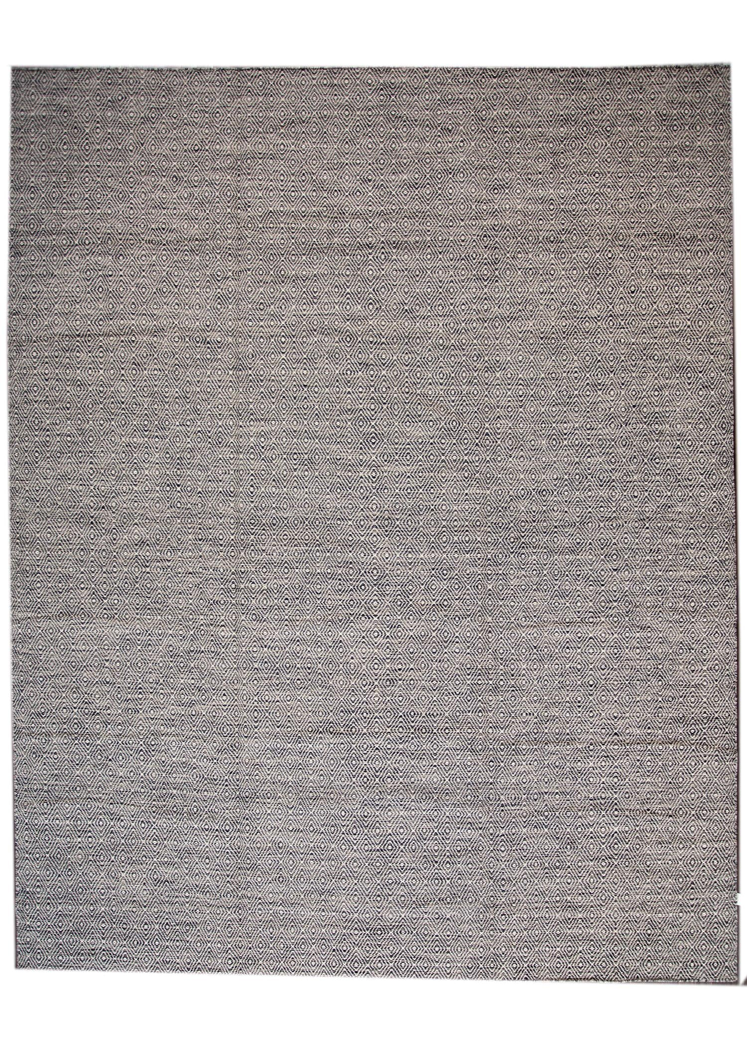 Contemporary Flatweave Rug, 12' X 15'