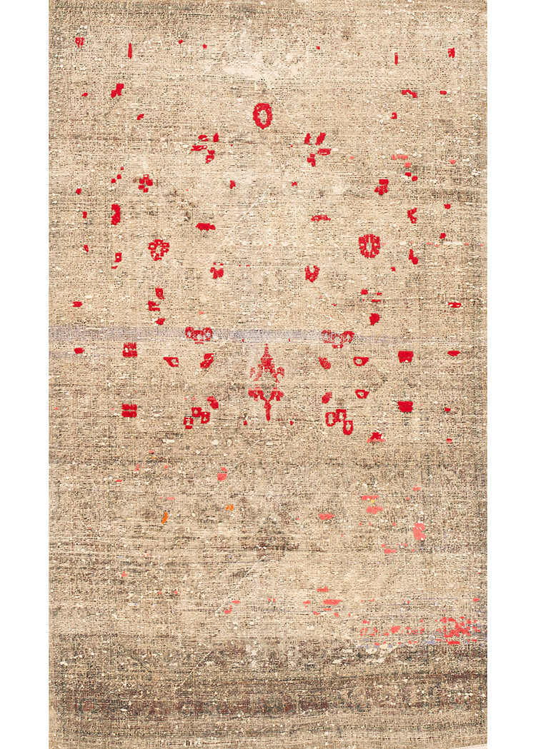 Vintage Malayer Scatter Rug, 4X7