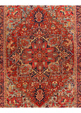 Antique Heriz Rug, 11X15
