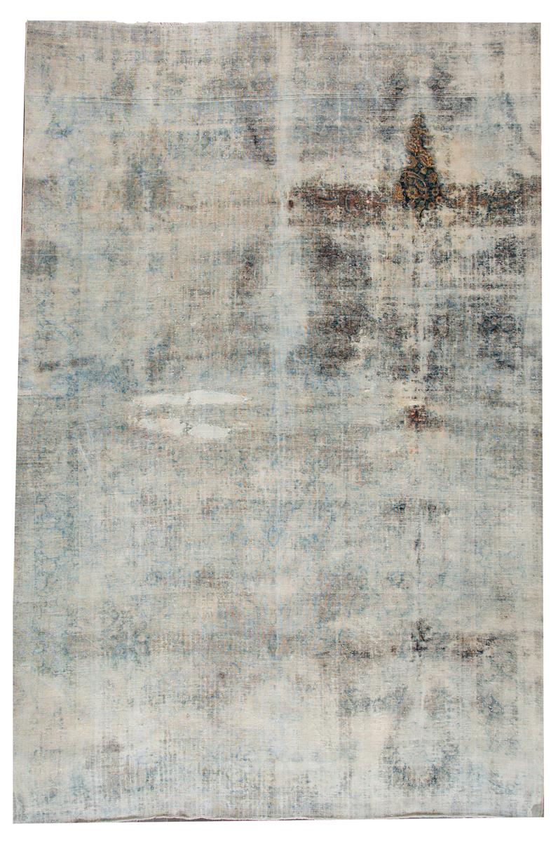 Distressed Antique Kerman Rug, 10X16