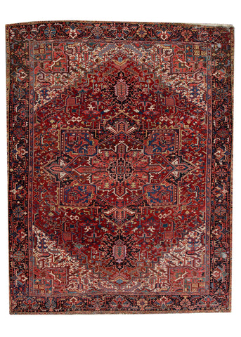 Antique Heriz Rug, 11X14
