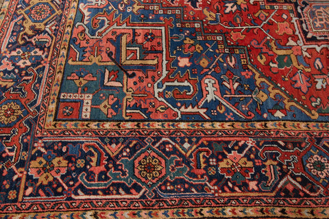 Antique Heriz Rug, 8X12