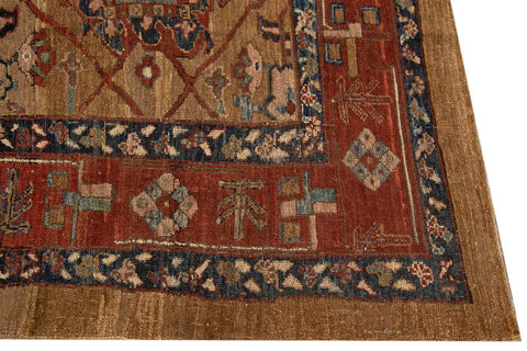Vintage Persian Tribal Bakshaish Rug, 8X10