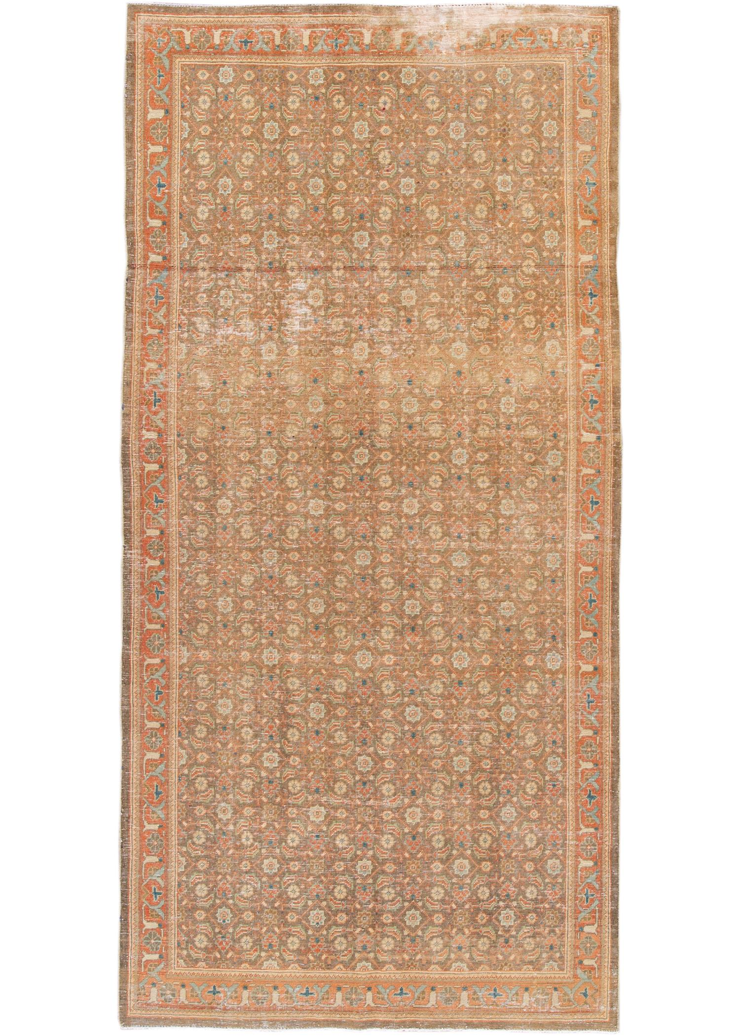 Antique Persian Rug, 5X10