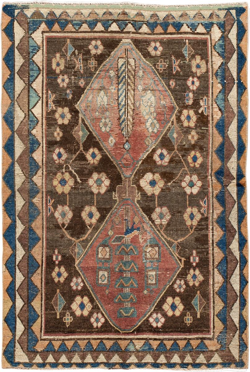 Antique Persian Rug, 4X6