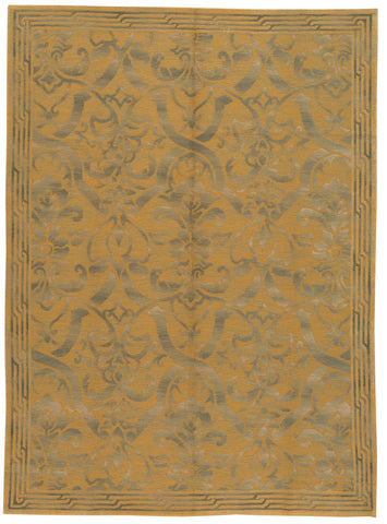 Transitional Nepalese Rug, 9X12