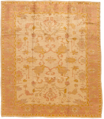 Antique Oushak Rug, 10X11