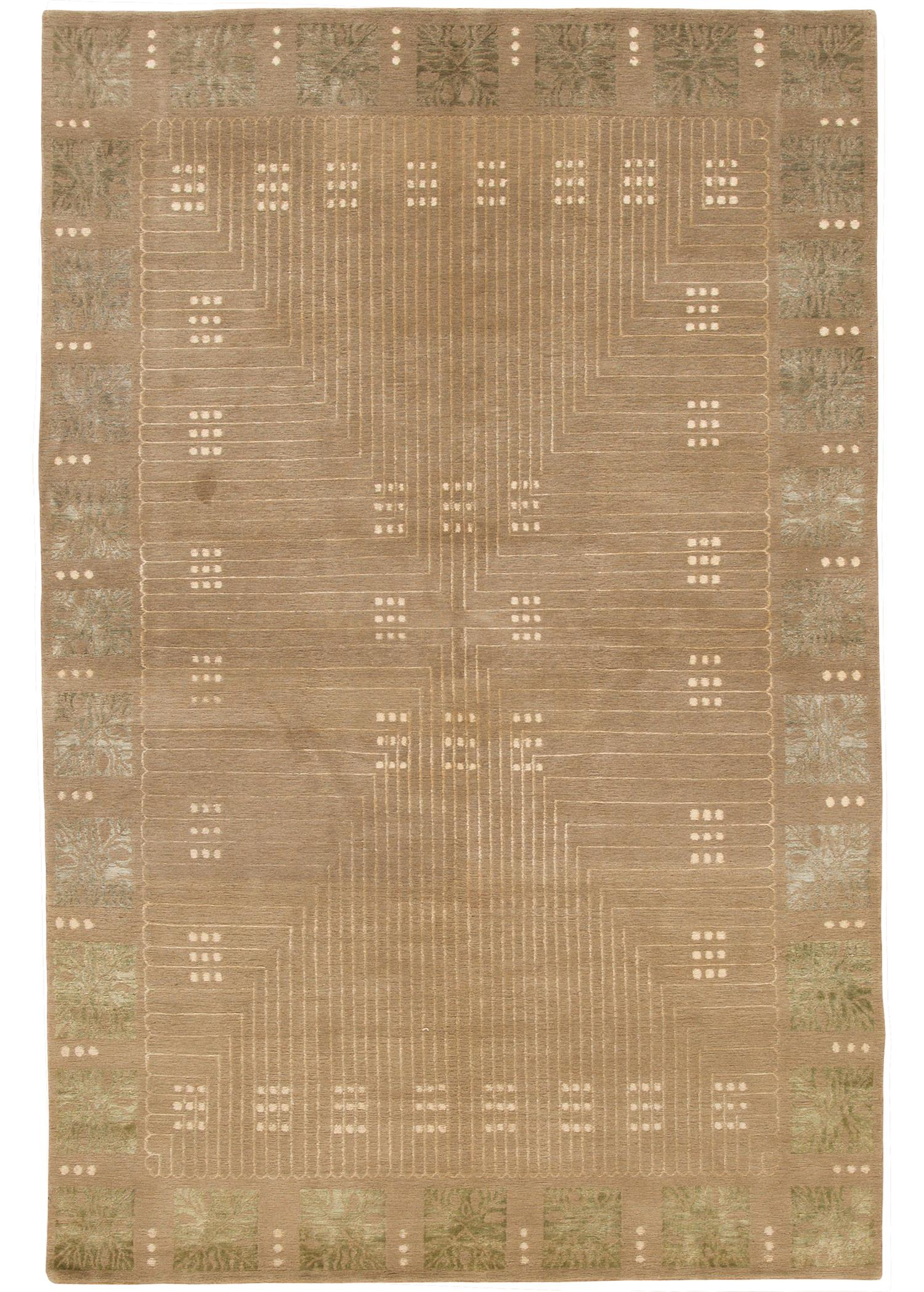 Contemporary Tibetan Rug, 6X9