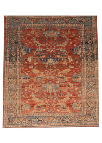 Vintage Persian Tribal Bakshaish Rug, 10' x 12'