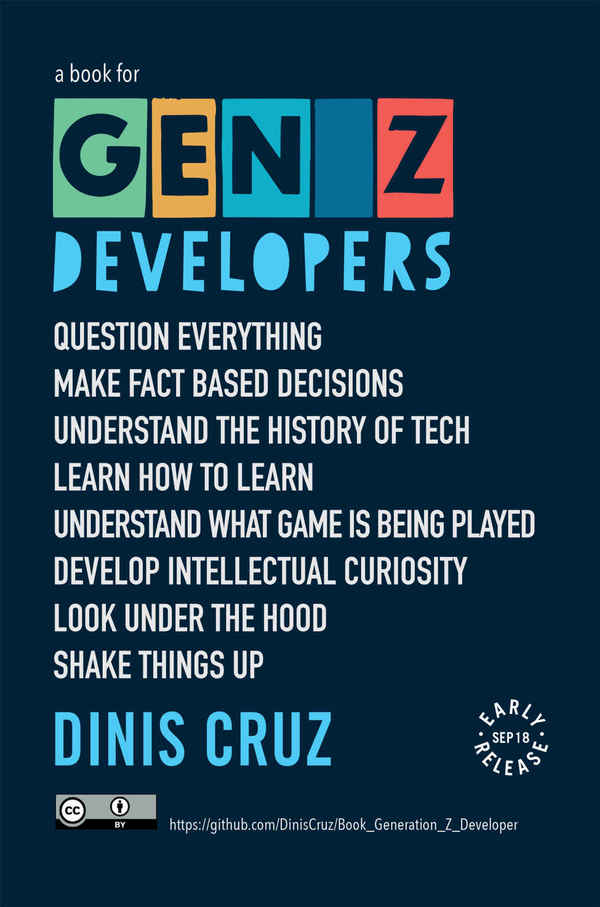 "Why I'm writing the ""Generation Z Developers"" book"