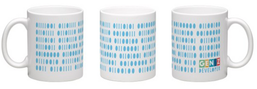 Binary Message (Mug)