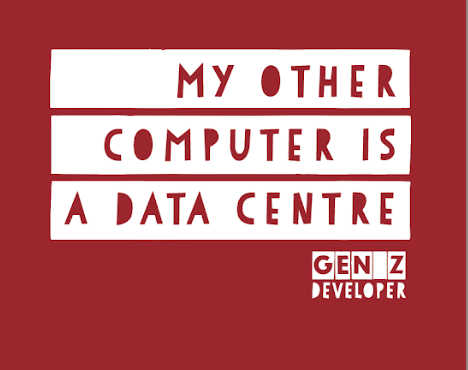 My other computer is a Data Center (T-Shirt)