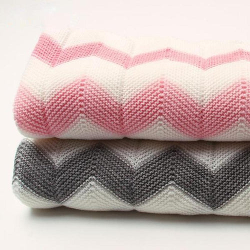 Super Soft Swaddle Knitted Blanket
