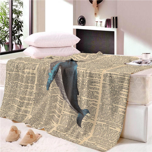 Top Quality Fashion Cotton Blanket
