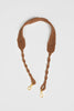 Lanamara - Noa Handmade Macrame Strap in Cinnamon Brown Cotton