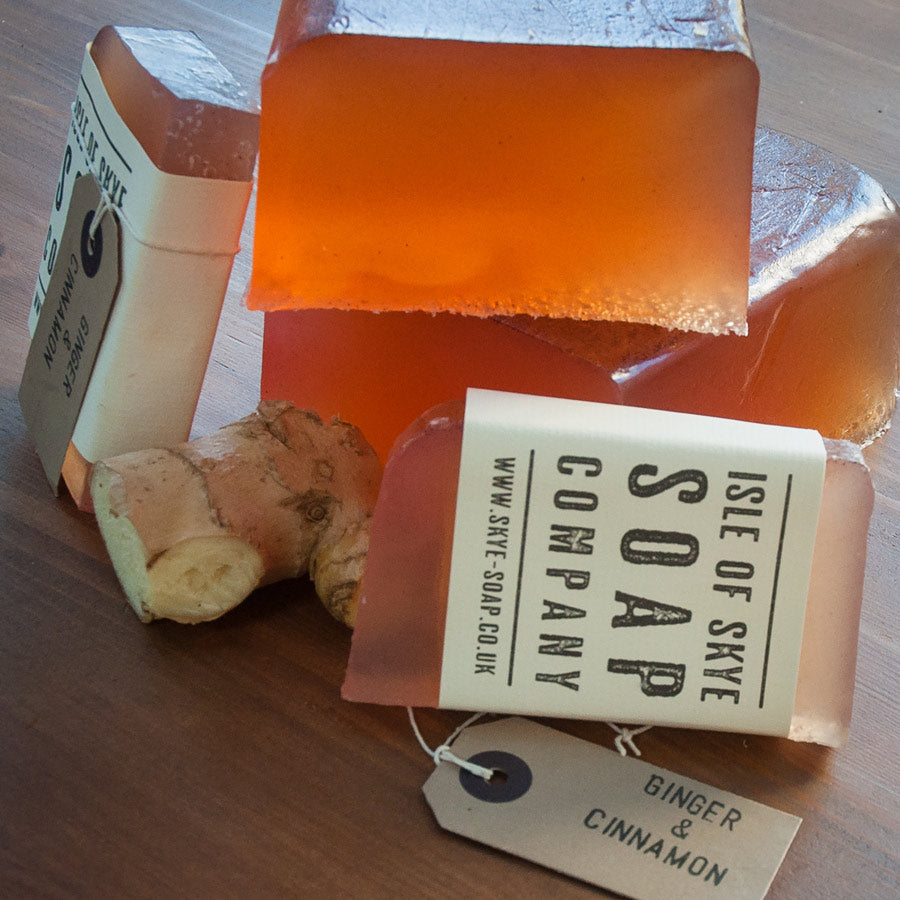 Isle of Skye Soap Co. Ginger & Cinnamon Soap