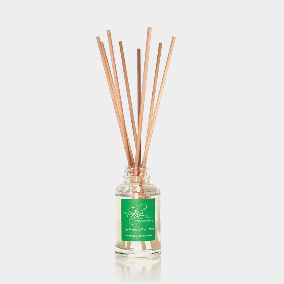 Bog Myrtle & Fresh Mint Reed Diffuser bottle