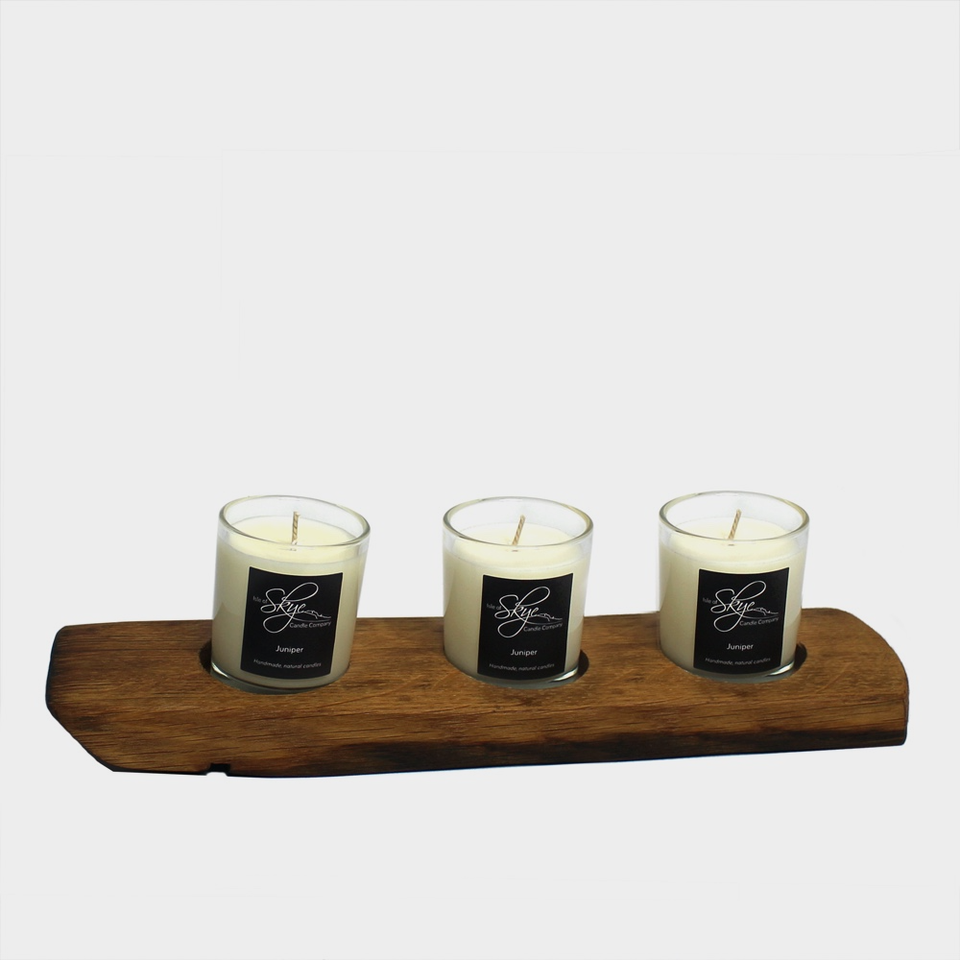 Darach 3 votive candle holder