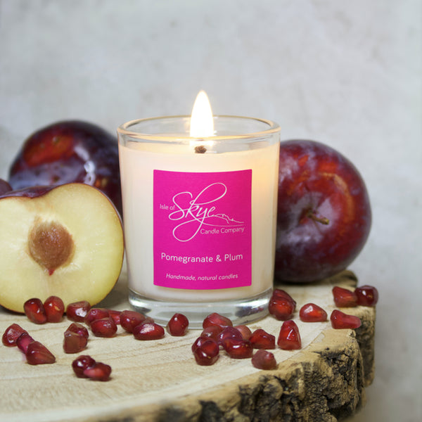 Pomegranate & Plum Votive