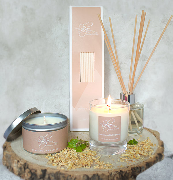 Sandalwood & Patchouli collection