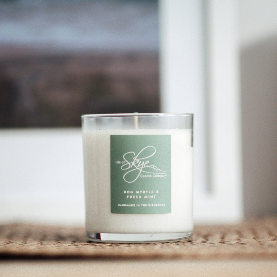 Bog Myrtle & Fresh Mint Candle