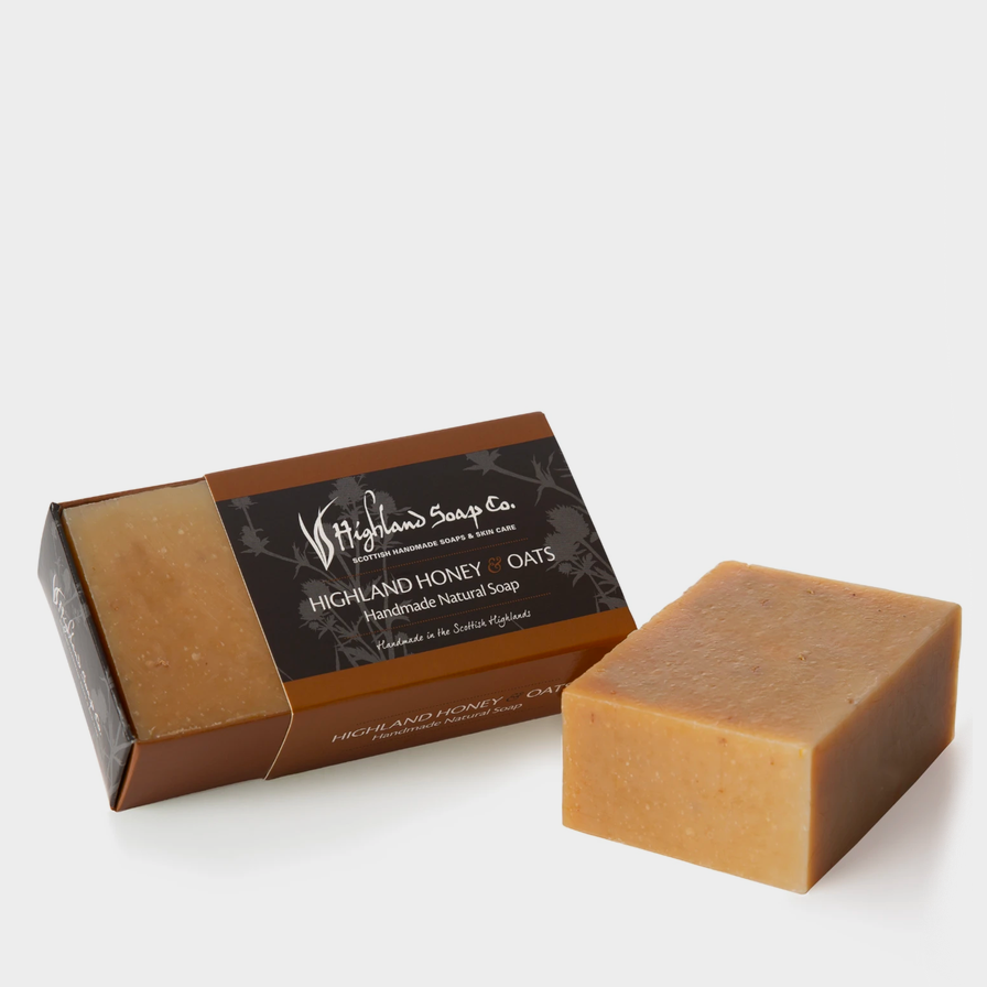 Highland Soap Co. Honey and Oats Soap