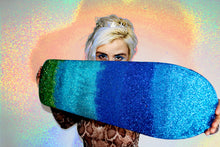 Load image into Gallery viewer, the nickleodeon glitter skateboard deck
