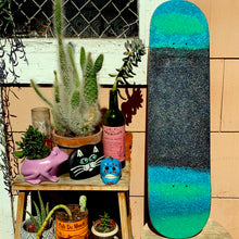 Load image into Gallery viewer, the aqua noodle, a glitter skateboard