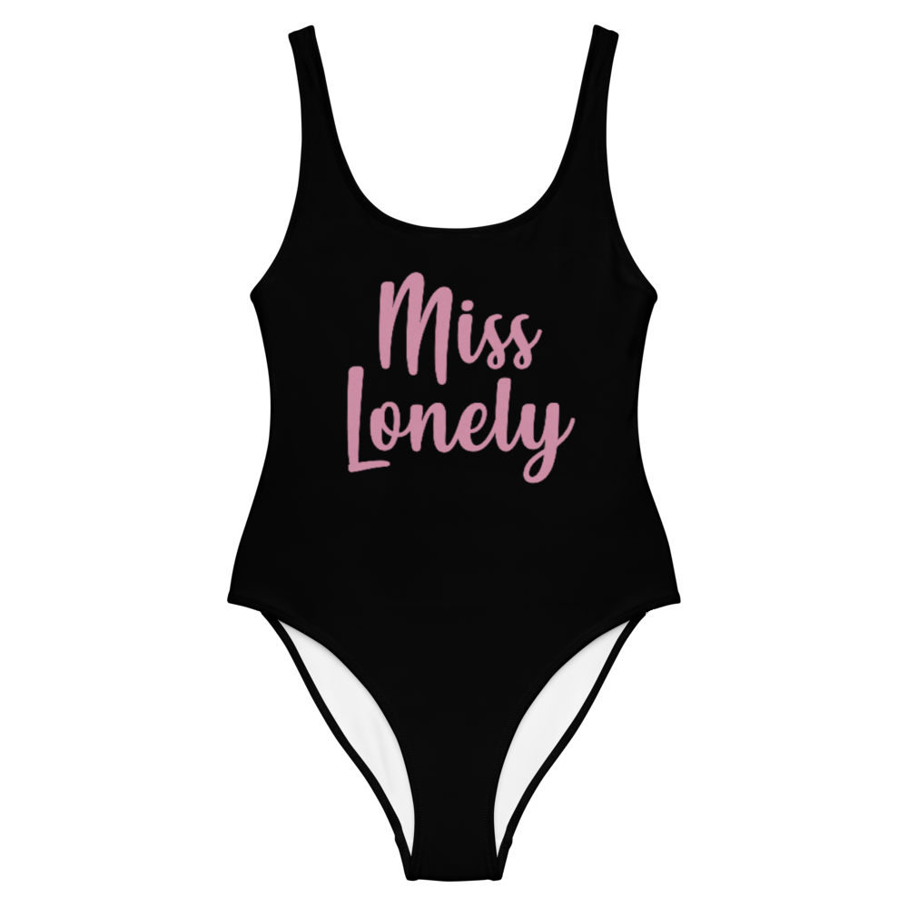miss lonely one-piece bodysuit / swimsuit
