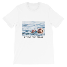 Load image into Gallery viewer, living the dream unisex t shirt