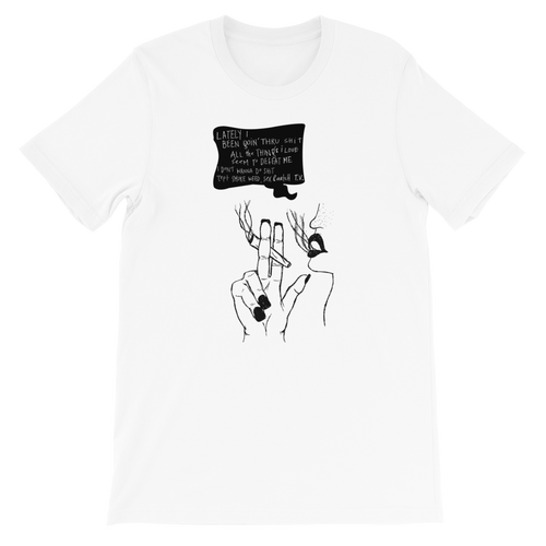 weed sex TV lyric unisex t shirt