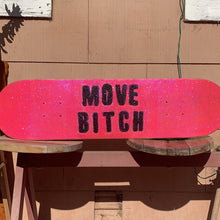 Load image into Gallery viewer, the luda (move bitch) glitter skateboard