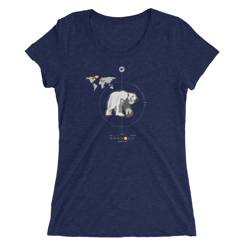 Polar Bear Special Edition - Premium Ladies' short sleeve t-shirt
