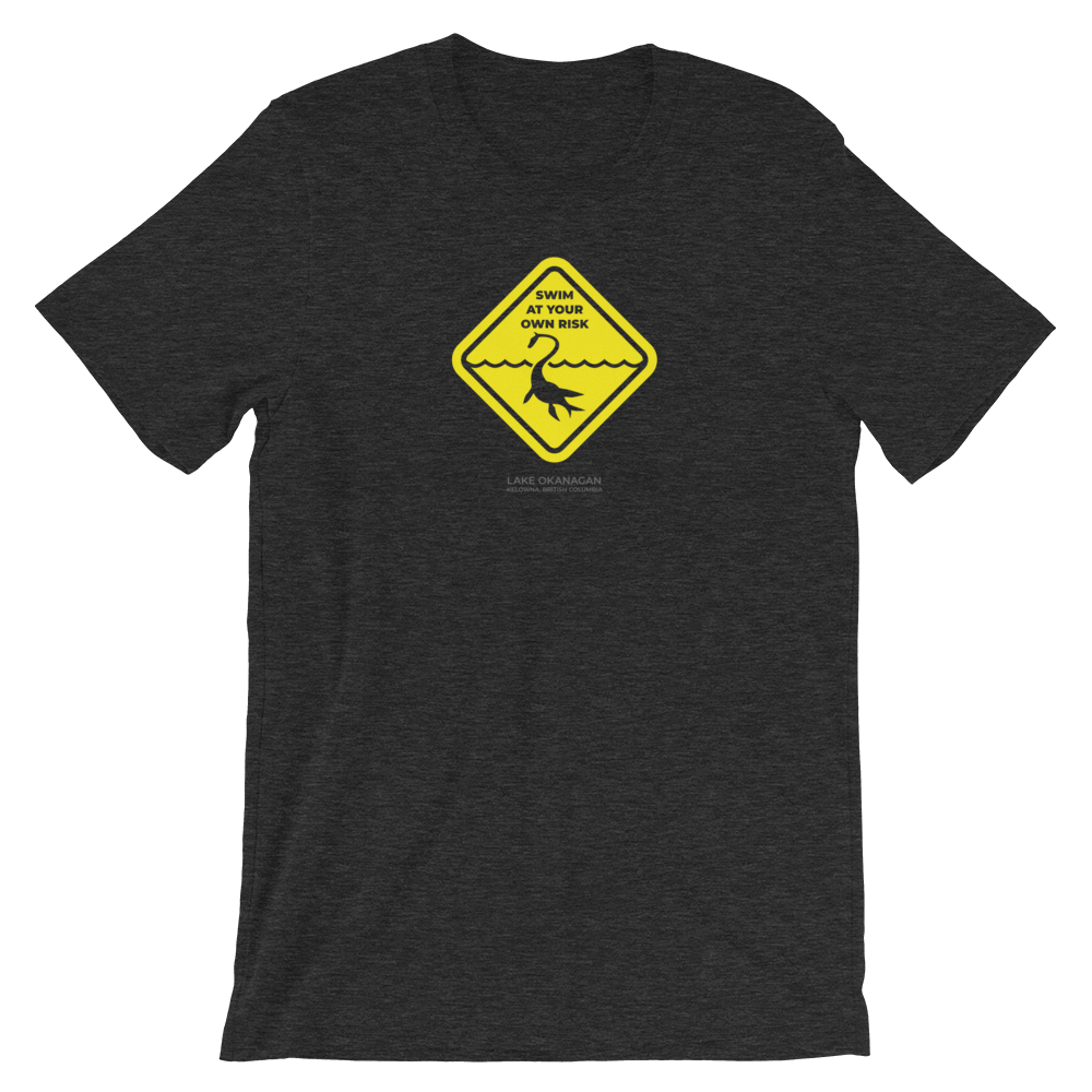 Ogopogo - Swim at your own risk - Short-Sleeve Unisex T-Shirt