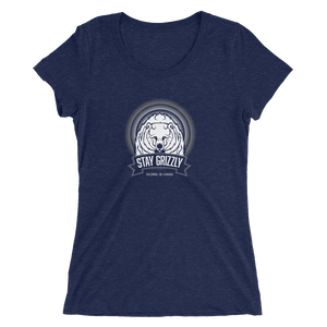 Stay Grizzly Kelowna - Spirits of the Okanagan - Premium Ladies' short sleeve t-shirt