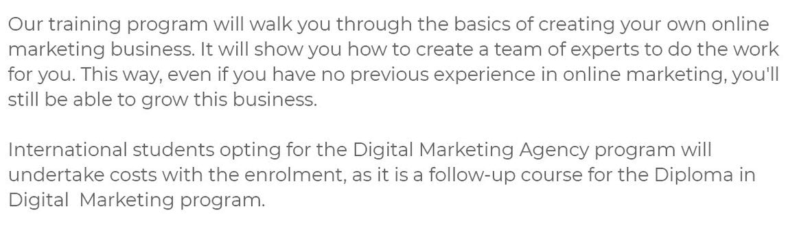 Start your own Digital Marketing Agency