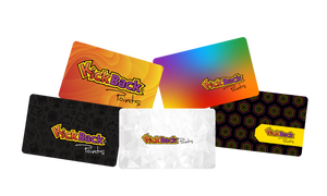 KICKBACK POINTS LOYALTY CARDS - VARIETY PACK