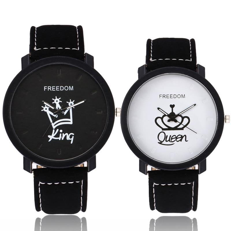 KING & QUEEN COUPLES WRISTWATCH