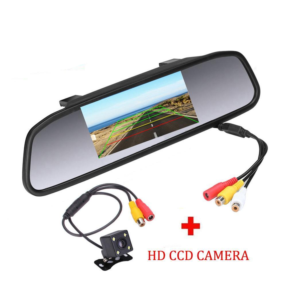 4.3 inch Car Rear View HD Camera