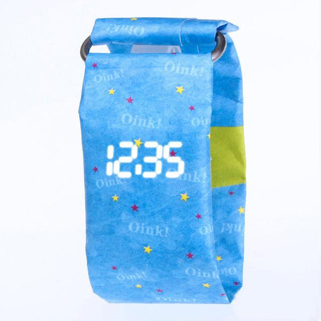 NOVELTY SMART PAPER WATCH