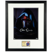 Load image into Gallery viewer, Adam Driver Autographed Star Wars Kylo Ren 11x14 Close Up Photo