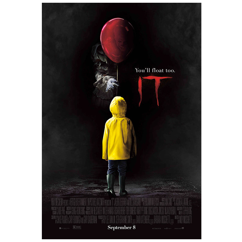 Bill Skarsgård Autographed IT Original 27x40 Double-Sided Movie Poster PRE-ORDER