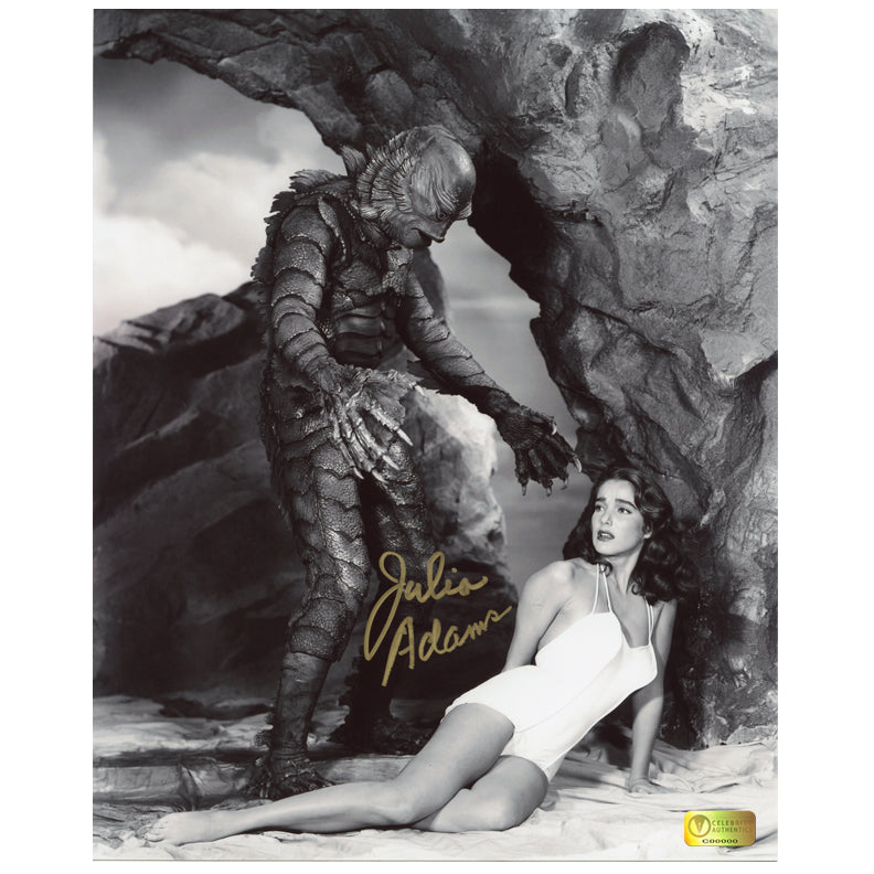 Julia Adams Autographed Creature from the Black Lagoon 8x10 Photo