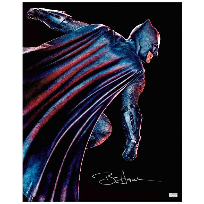 Ben Affleck Autographed Batman vs Superman Dawn of Justice 16x20 Photo