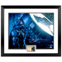 Load image into Gallery viewer, Ben Affleck Autographed Batman vs Superman Dawn of Justice Bat Signal 16x20 Photo