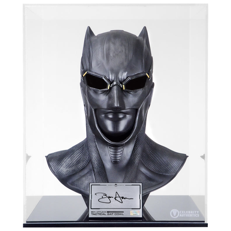 Ben Affleck Autographed Batman v Superman: Dawn of Justice 1:1 Scale Batman Cowl
