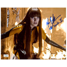Load image into Gallery viewer, Malin Akerman Autographed Watchmen Silk Spectre II 8x10 Scene Photo