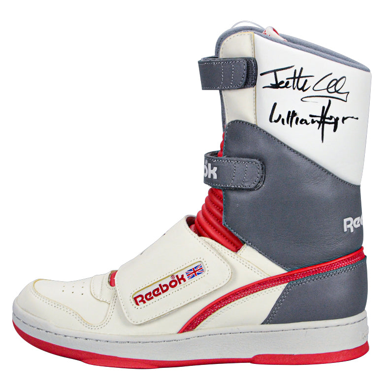 Sigourney Weaver, Bill Paxton, Aliens Cast Autographed Reebok Ripley Stompers