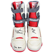 Load image into Gallery viewer, Sigourney Weaver, Bill Paxton, Aliens Cast Autographed Reebok Ripley Stompers